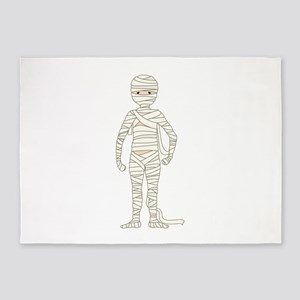 Mummy 5'x7'Area Rug