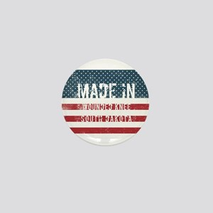 Made in Wounded Knee, South Dakota Mini Button