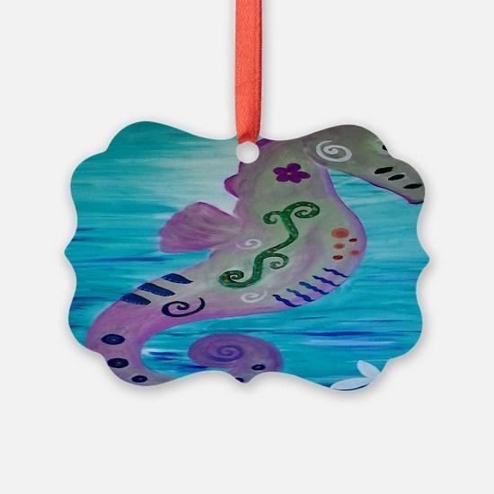 Sassy Seahorse Ornament