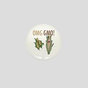 OMG GMO! Mini Button