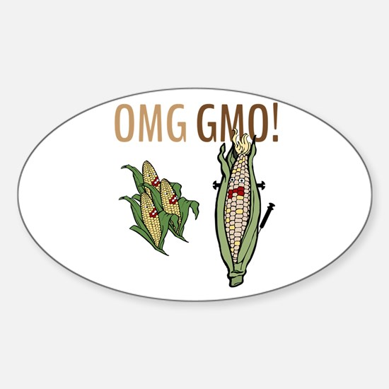 OMG GMO! Decal