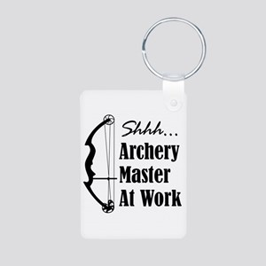 Archery Master (compound) Keychains