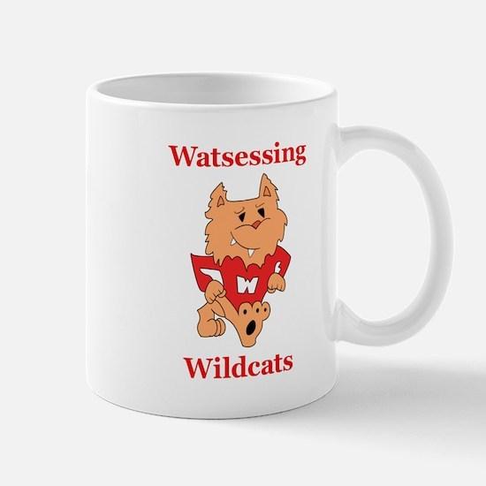 Happy Wildcat Watsessing Logo Winner Mugs