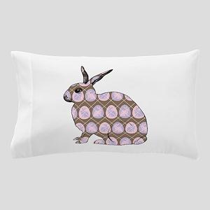 Argyle Easter Bunny Pillow Case