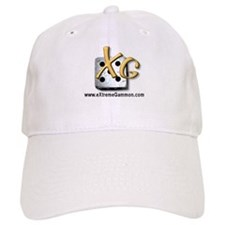 Xg logo with web Baseball Cap