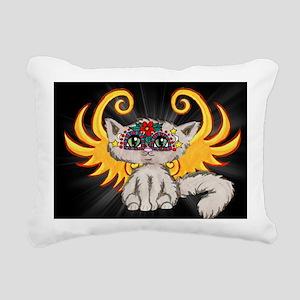 Frixie, Cat Fairy Rectangular Canvas Pillow