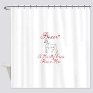 Boxer? Shower Curtain