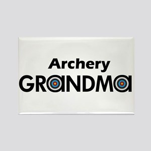 Archery Grandma Magnets