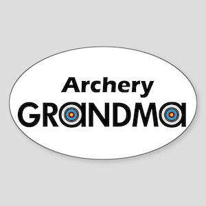 Archery Grandma Sticker