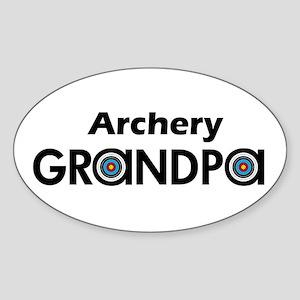 Archery Grandpa Sticker
