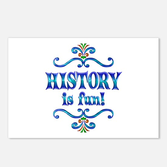 History is Fun Postcards (Package of 8)