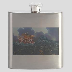 Noahs Ark Flask