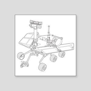 """Rover  Square Sticker 3"""" x 3"""""""