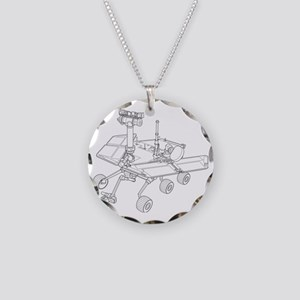 Rover  Necklace Circle Charm
