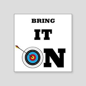 Bring It On Archery Target Sticker