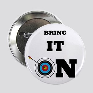 "Bring It On Archery Target 2.25"" Button"