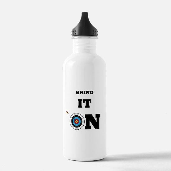 Bring It On Archery Water Bottle