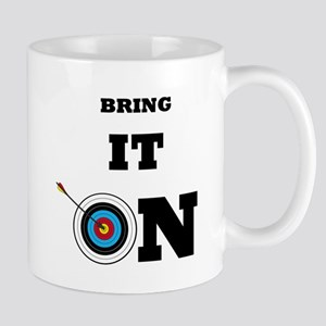 Bring It On Archery Target Mugs