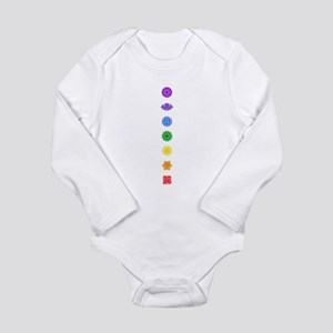 The Chakras Infant Creeper Body Suit