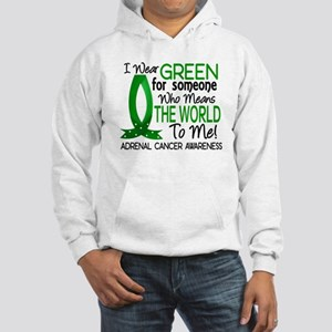 Means World to Me 1 Adrenal Canc Hooded Sweatshirt