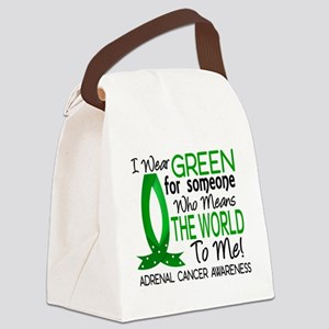 Means World to Me 1 Adrenal Cance Canvas Lunch Bag