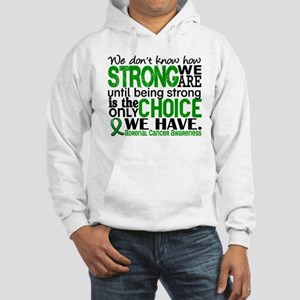 How Strong We Are Adrenal Cancer Hooded Sweatshirt