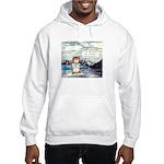 Abrahamster in Alaska Hooded Sweatshirt