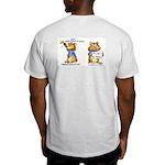 Abrahamster in Alaska Ash Grey T-Shirt