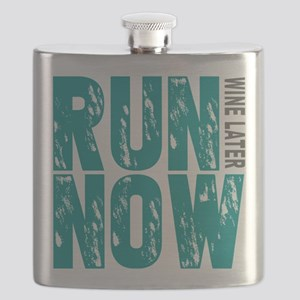Run Now Wine Later Flask