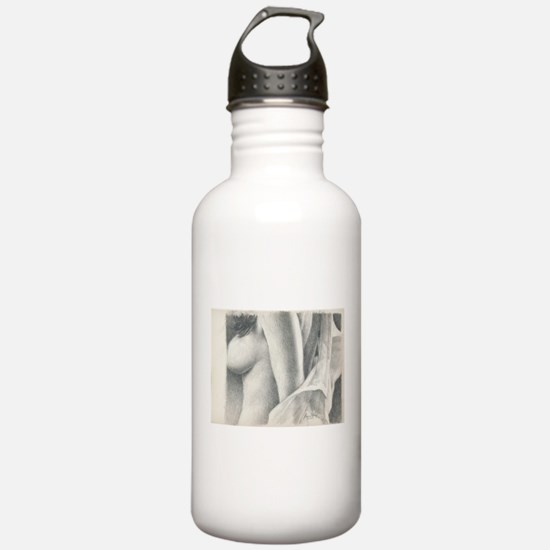 Just a Little Erotic #4 James Fox Art Water Bottle