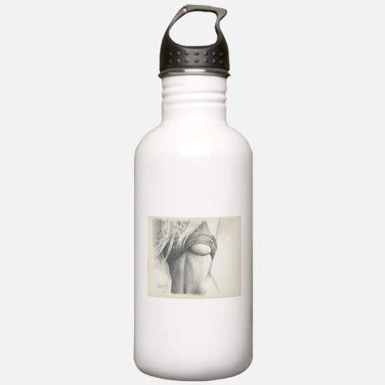 Just a Little Erotic #3 James Fox Art Water Bottle