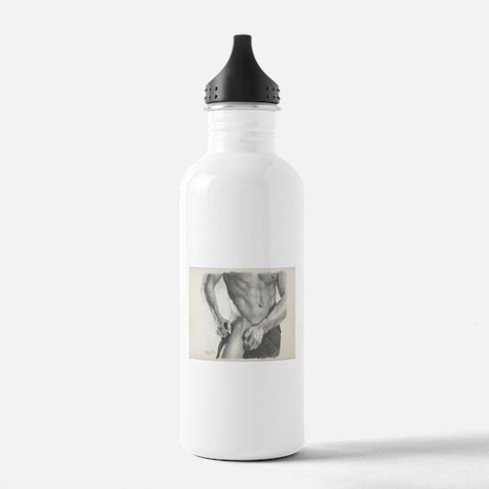 Just a Little Erotic #2 James Fox Art Water Bottle