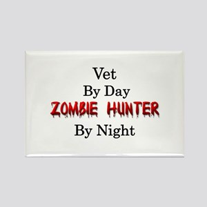 Vet/Zombie Hunter Rectangle Magnet