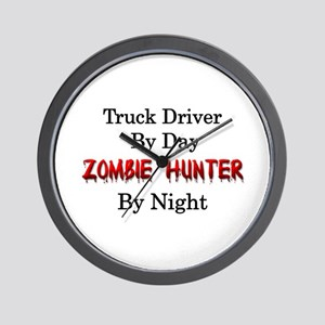 Truck Driver/Zombie Hunter Wall Clock