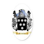Frawley Oval Car Magnet