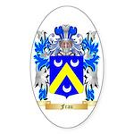 Frau Sticker (Oval)