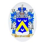 Frau Ornament (Oval)