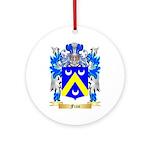 Frau Ornament (Round)