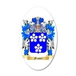 Fraser 20x12 Oval Wall Decal