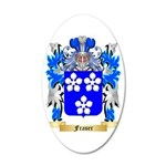 Fraser 35x21 Oval Wall Decal