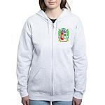 Frascone Women's Zip Hoodie