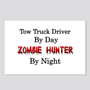 Tow Truck Driver/Zombie H Postcards (Package of 8)