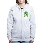 Franzonello Women's Zip Hoodie