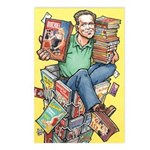 Postcards (Pkg. of 8) - Rick Geary Caricature