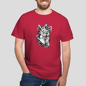 Scary Clown Face Dark T-Shirt