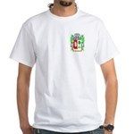 Franzen White T-Shirt
