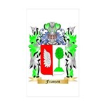 Franzen Sticker (Rectangle 50 pk)
