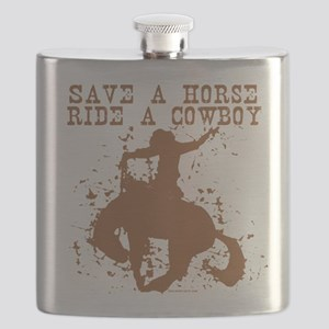 save a horse ride a cowboy Flask