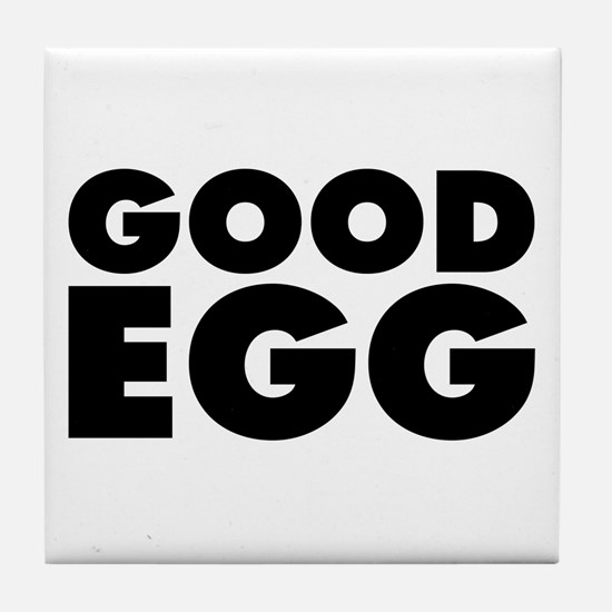 Good Egg Tile Coaster