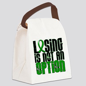 Losing Is Not an Option Adrenal C Canvas Lunch Bag